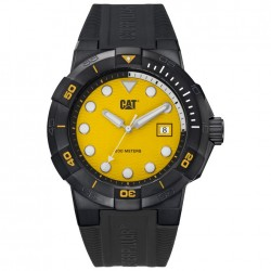 RELOJ CAT SHOCK DIVER BLACK YELLOW